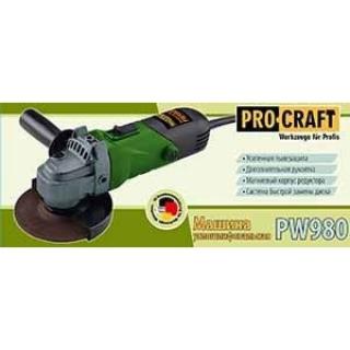 Болгарка (УШМ) Procraft PW980