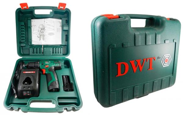 Дрель-шуруповерт DWT ABS-10.8 CLi2 BMC