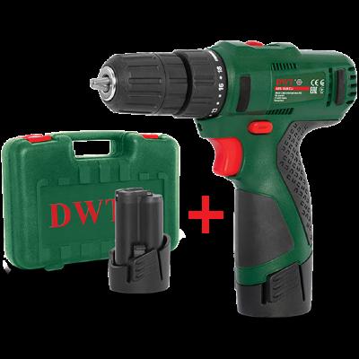 Аккумуляторный шуруповерт DWT ABS-12 СLi-2 BMC