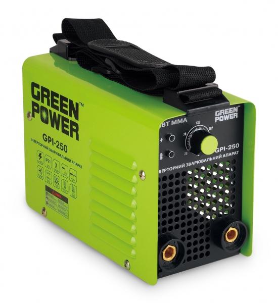 Cварочный инвертор GREEN POWER GPI-250
