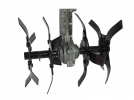 Насадка-культиватор для мотокосы Sturm BTA007-289, штанга D=28 мм, 9 шлицов