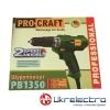 Шуруповерт сетевой Procraft PB1350