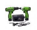 Набор аккумуляторного инструмента Procraft Industrial РА168SET