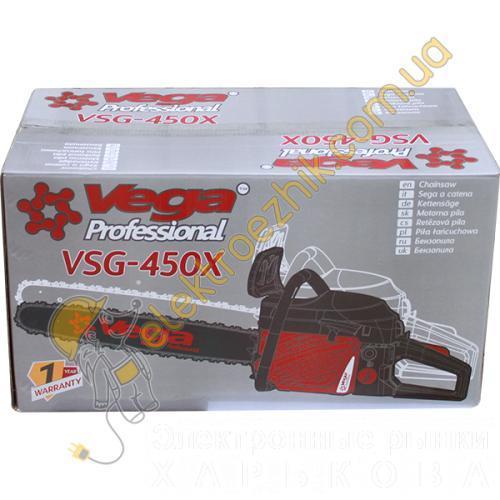 Бензопила Vega Professional VSG-450X